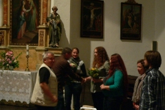 Reciál v kostele sv. Prokopa v Lošticích